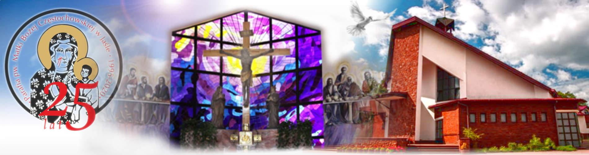 Jasło - 25 lecie parafii Matki Bożej Częstochowskiej